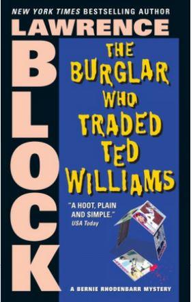 Burglar book jacket