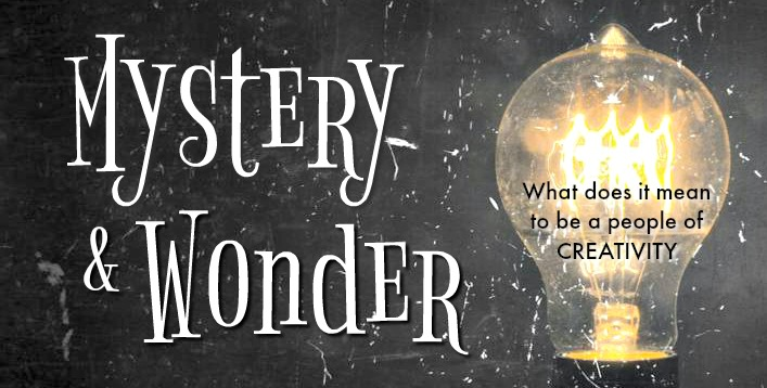Mystery & Wonder w/ lightbulb