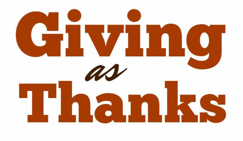 Giving as Thanks