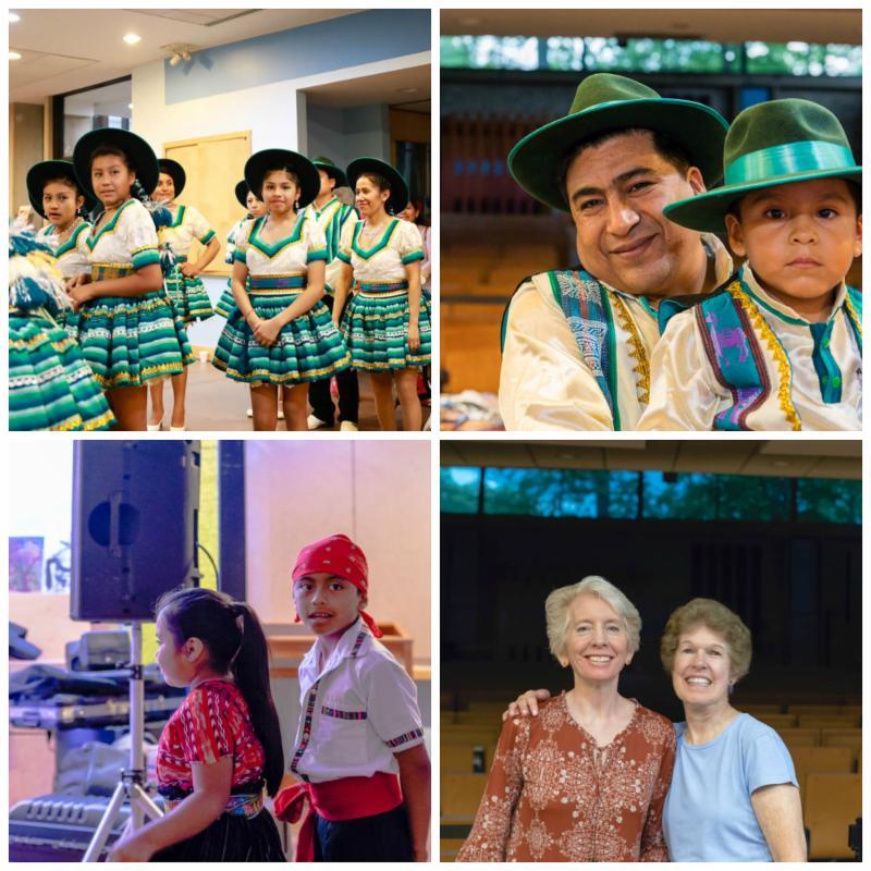photo collage of fiesta @ UUCA