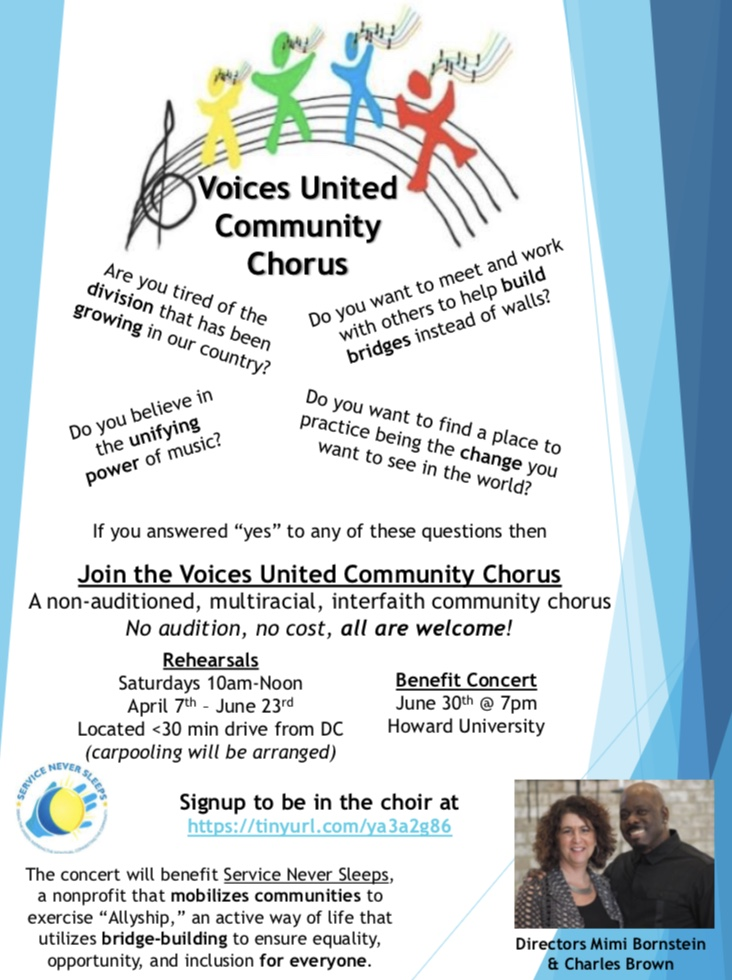 VOICES UNITED COMMUNITY CHORUS