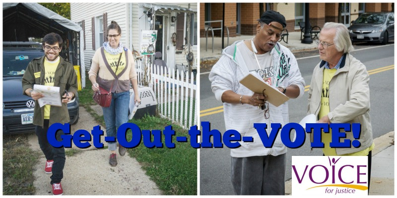 Get out the vote volunteers