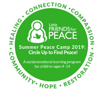 Peace Camp 2019 logo