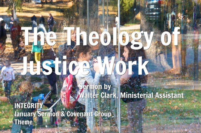 The Theology of Justice Work