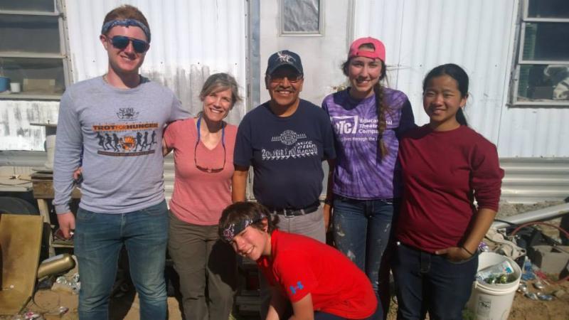 Hopi service trip 2015