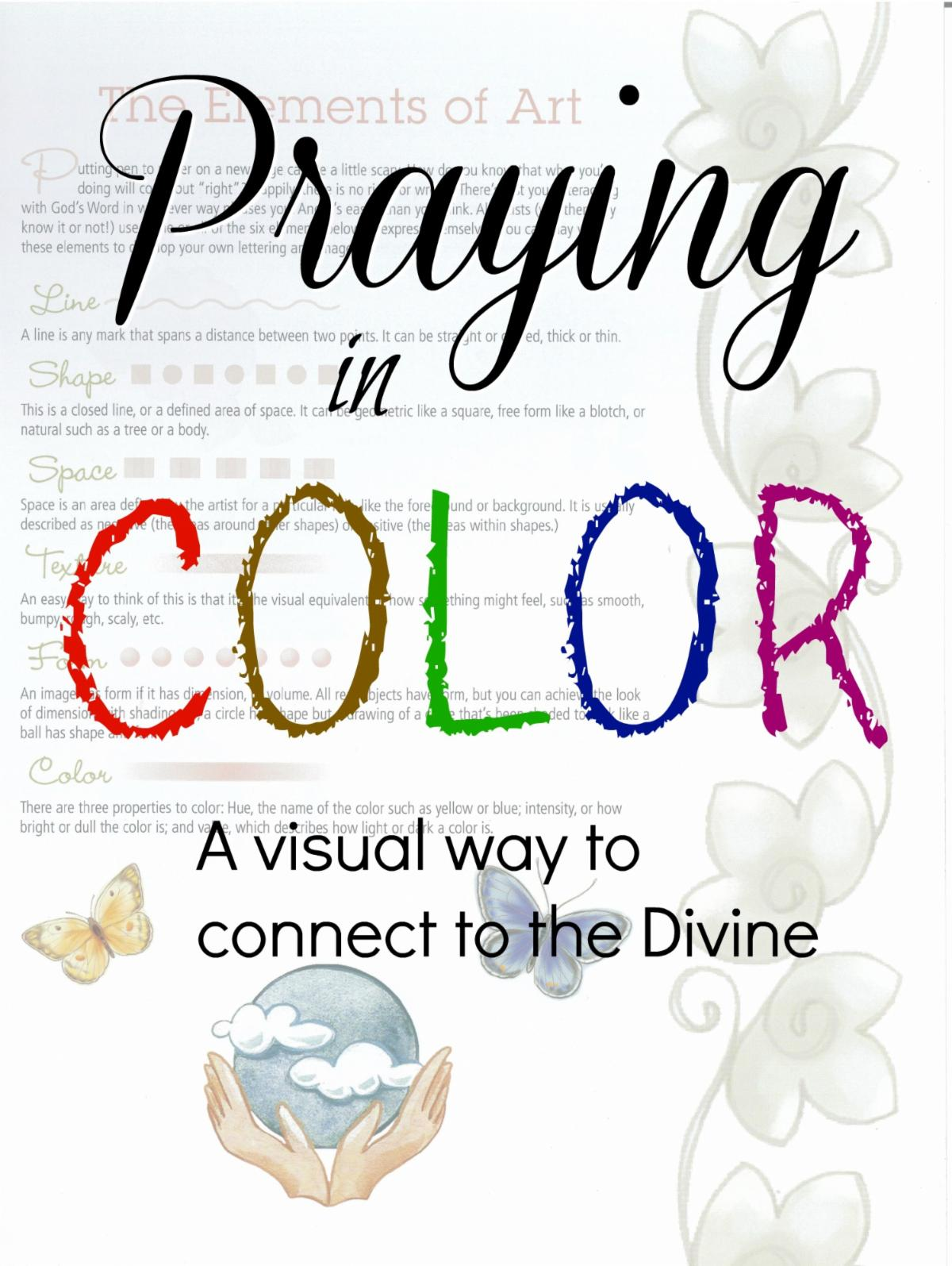 Praying in Color image