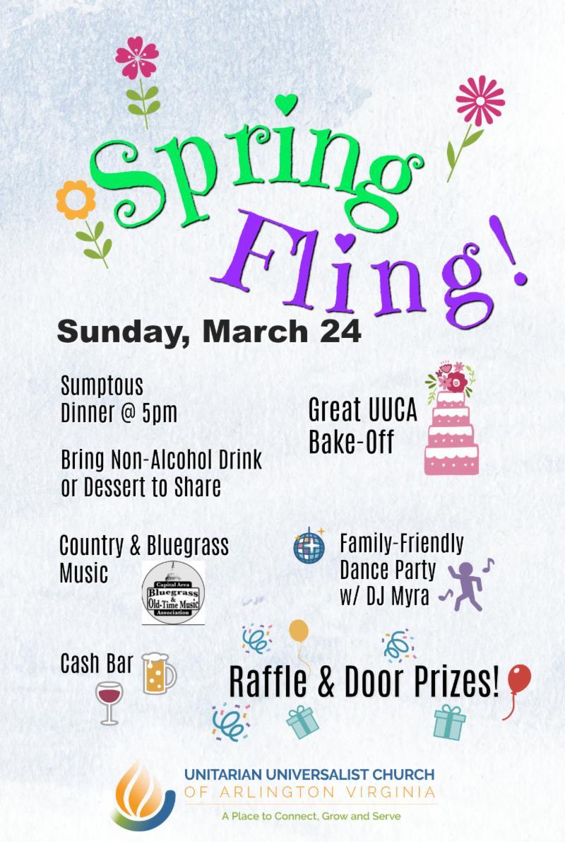 Spring Fling flyer image