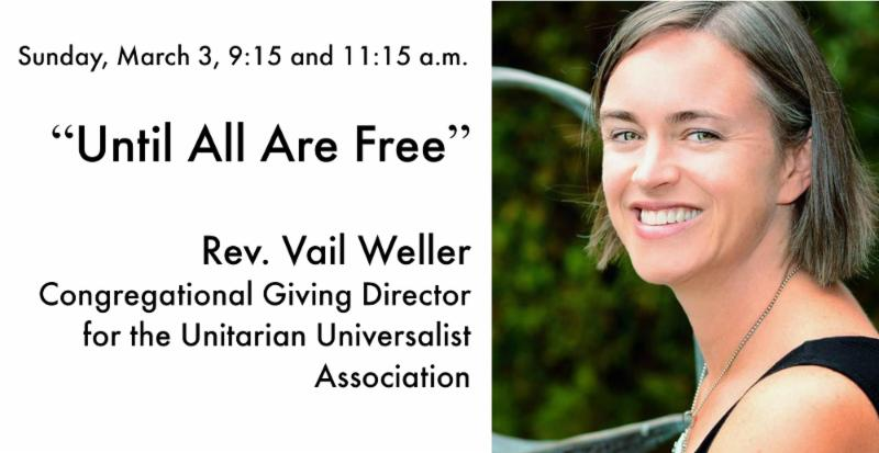 Until All Are Free sermon by Rev Weller