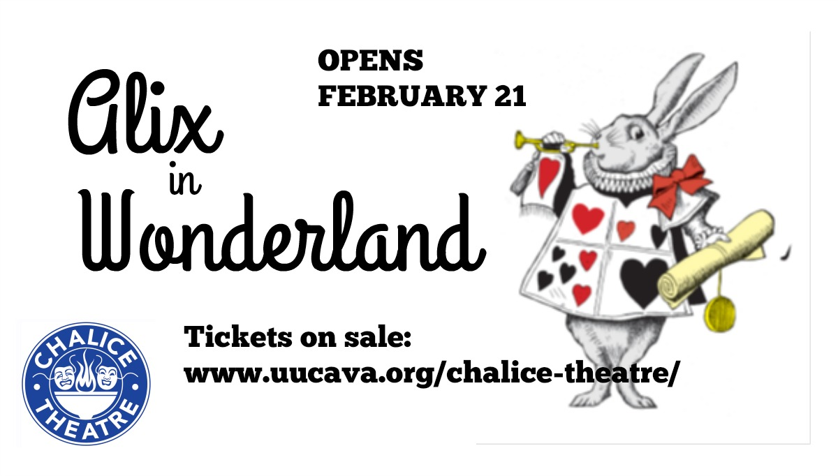 Alix in Wonderland opens Friday, February 21