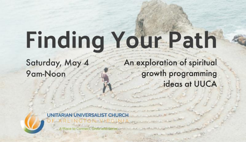 Finding Your Path image - women walking labyrinth