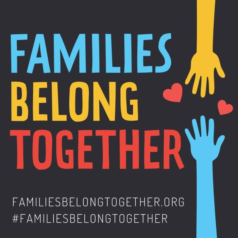Families Belong Together - logo image