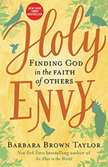Book Cover of Holy Envy by Barbara Brown Taylor