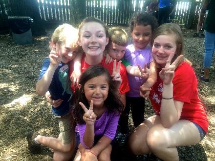 peace camp kids