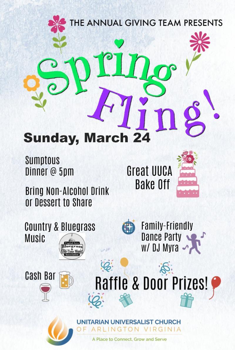 Spring Fling! flyer - March 24