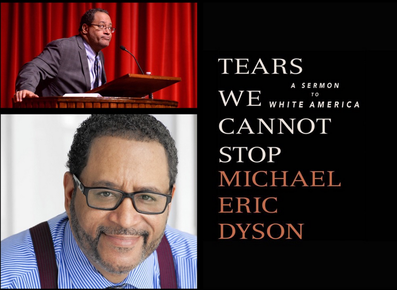 photo of Dyson and Tears We Cannot Stop book cover