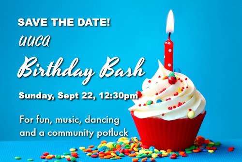 UUCA Birthday Bash - September 22