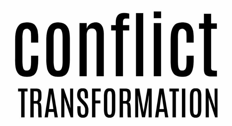 CONFLICT TRANSFORMATION - LARGE font