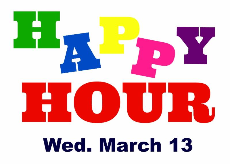 Happy Hour - March 13