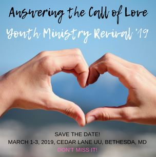 Youth Revival - hands shaping heart image