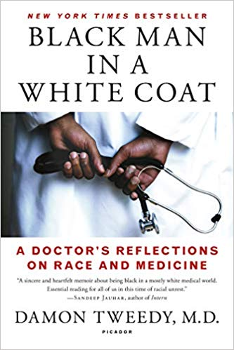 Black Man in White Coat book cover