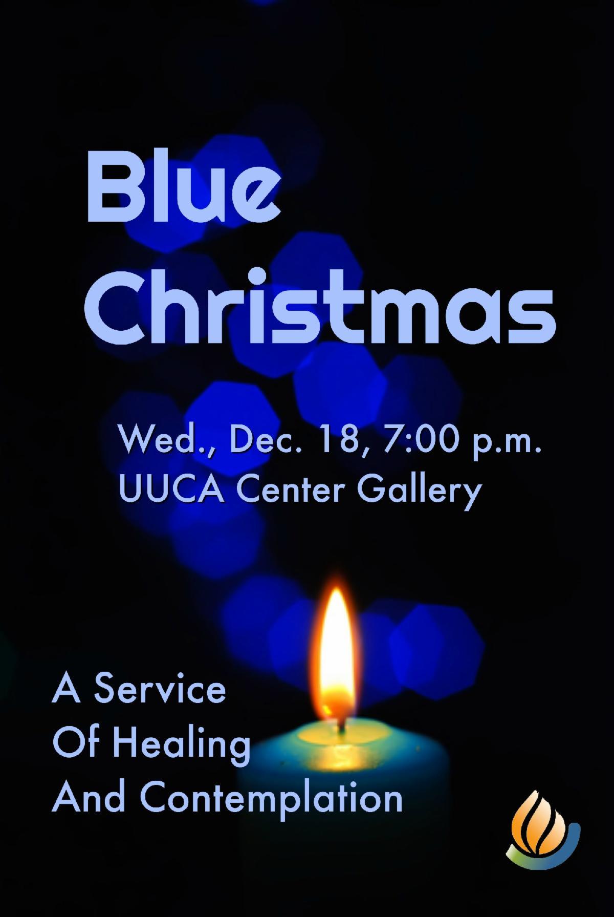 Blue Christmas flyer - Dec 18, 7pm