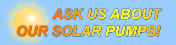 Ask Us About Our Solar Pumps_