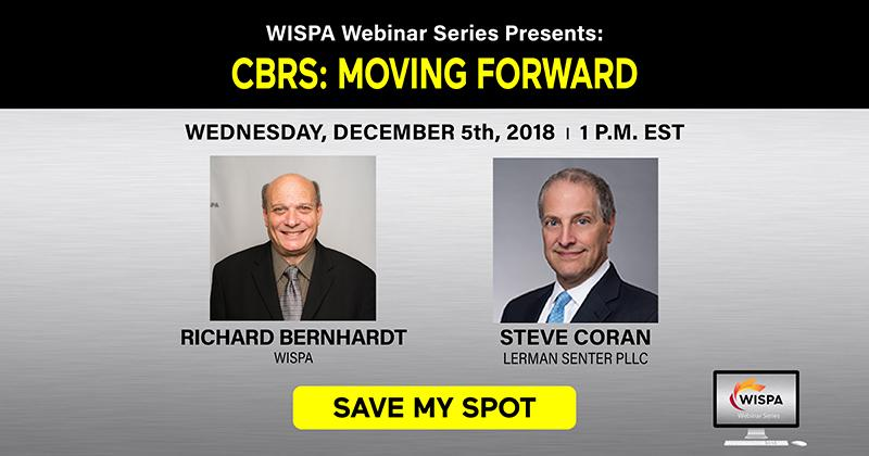 CBRS MOVING FORWARD