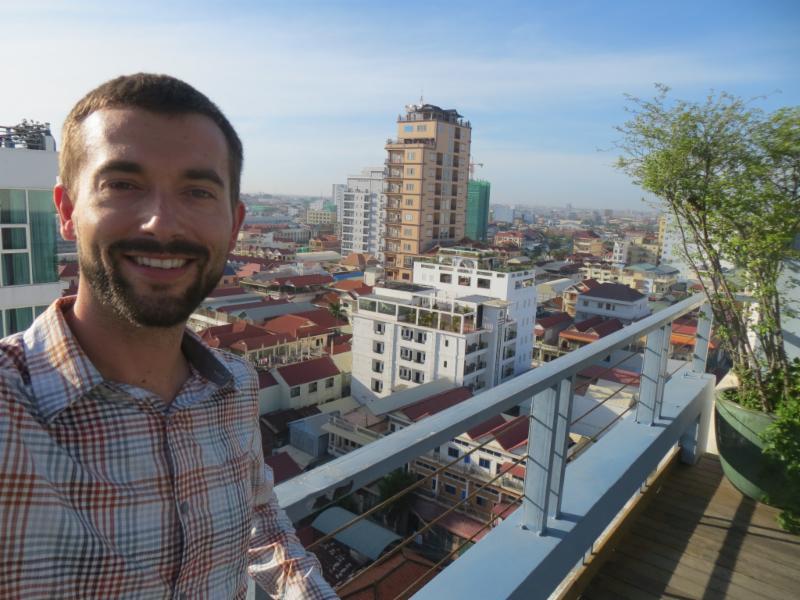 first day in Phnom Penh