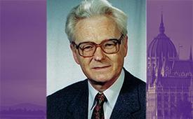 Photo of Tucker Lecturer Dr. Harmathy Attila