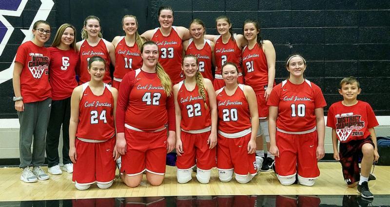 2018 Girls Basketball Team