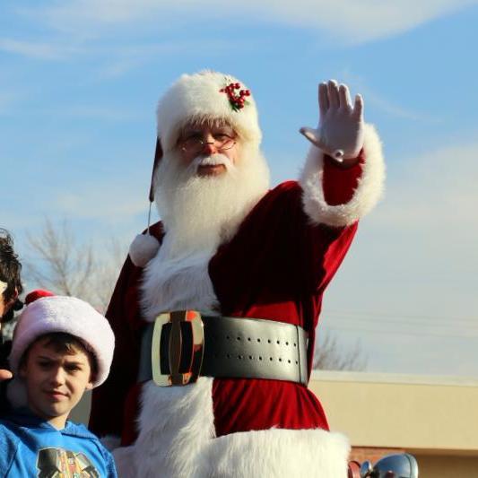 2017 Christmas Parade - Santa