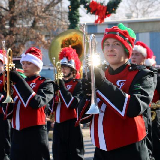 2017 Christmas Parade - High School Band