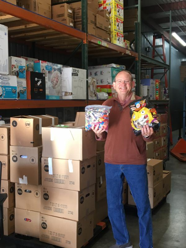 HEROES Warehouse receives donations