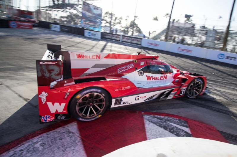 Cadillac to Start Second at Long Beach
