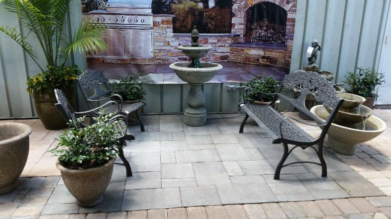 pavers at Stone Garden