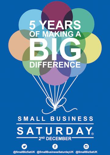 Small Business Saturday 2nd December