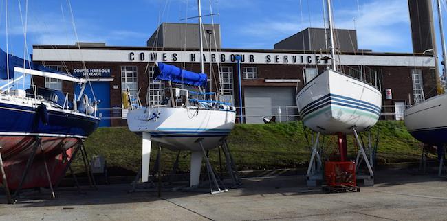 Cowes Harbour Services building - Kingston Wharf