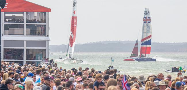 Cowes SailGP - Credit Lloyd Images