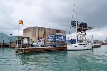 Cowes Harbour Services Fuel Berth