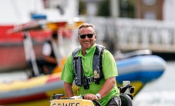 Simon Willis - Harbour Patrol Officer and Berthing Master
