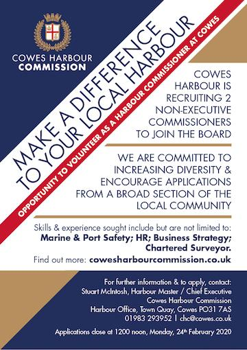 Commissioner recruitment poster