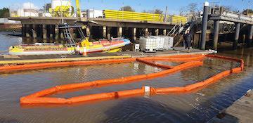 CHC oil spill response exercise