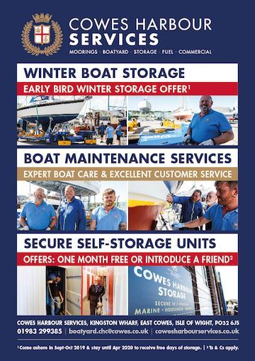 Winter boat storage at Kingston Wharf