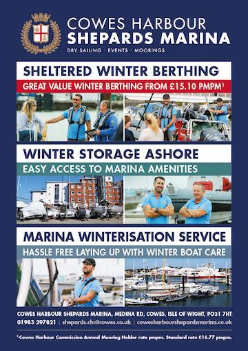 Sheltered Winter Berthing at Shepards
