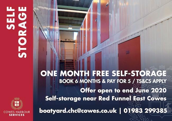 Self-Storage - one month free