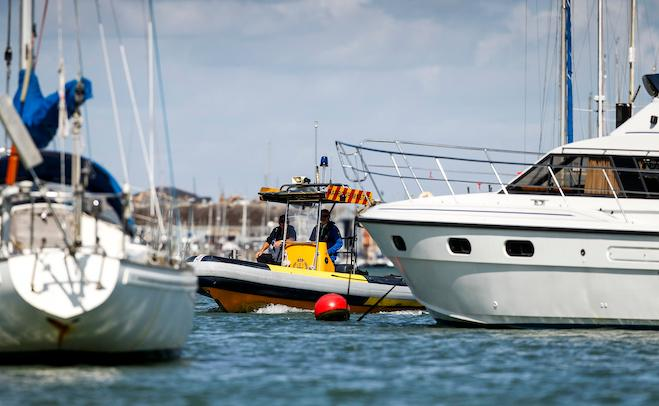 River patrol at Cowes Harbour