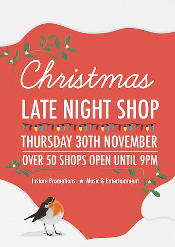 Christmas Late Night Shop Cowes