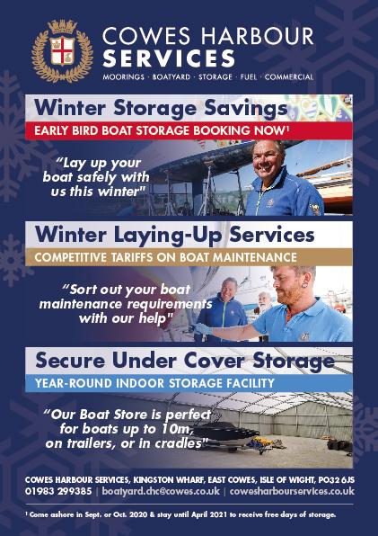 Winter Storage Savings