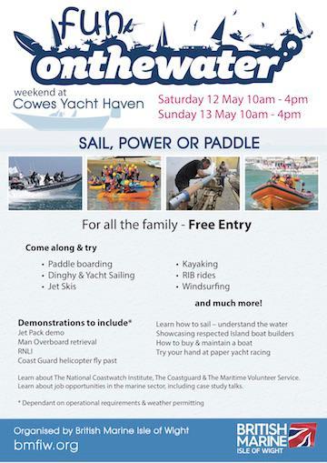 On the Water - British Marine event