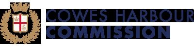 Cowes Harbour Commission logo coloured crest